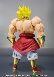 Figurine Broly de dos