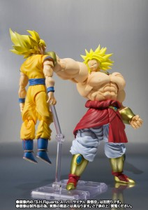 Figurine Broly vs Goku