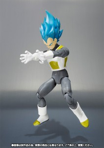 sh figuarts vegeta super sayajin blue final flash